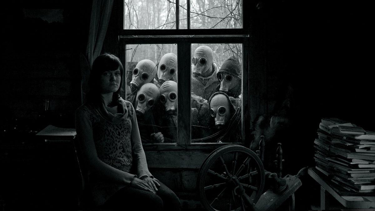 stalkers in gas masks