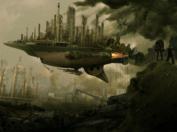 why the future is steampunk: steam-powered spacecraft could explore asteroids