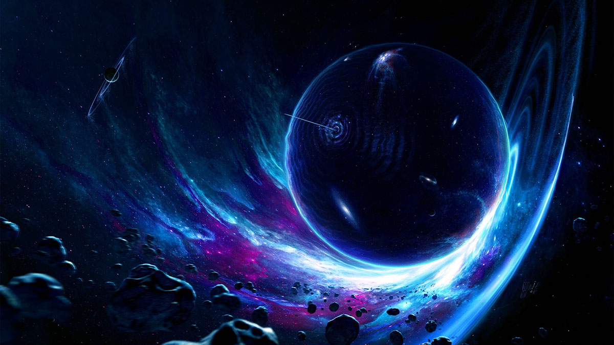 searching for wormholes with general relativity weird things