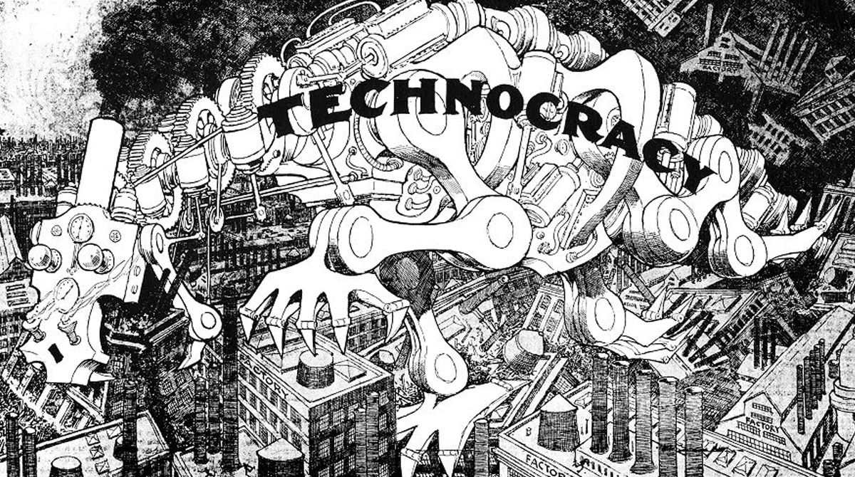technocracy cartoon