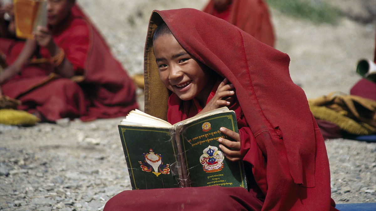 tibetan child monk