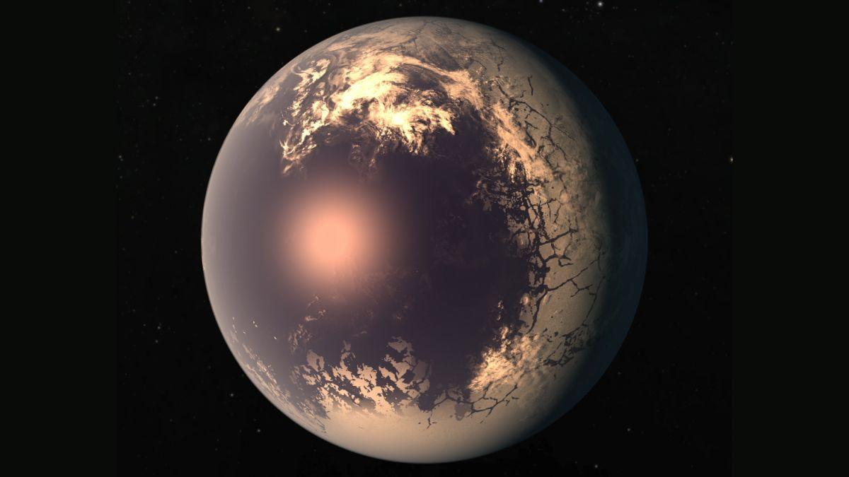 tidally locked eyeball planet