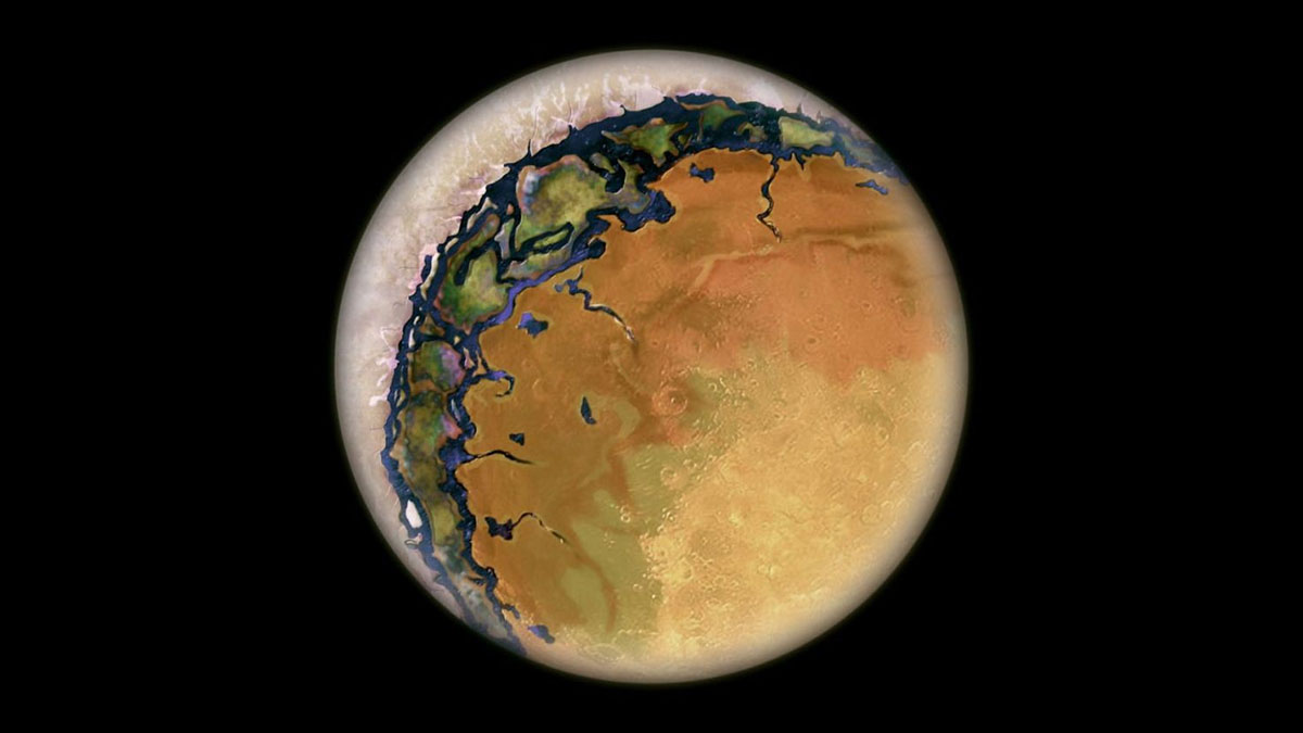 tidally locked planet