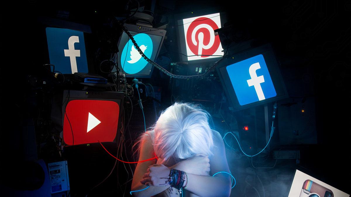 tied to social media logos