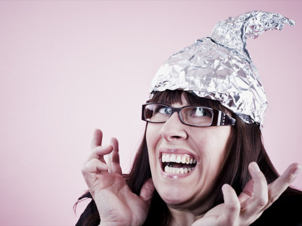 breaking news: tinfoil hats are the real conspiracy