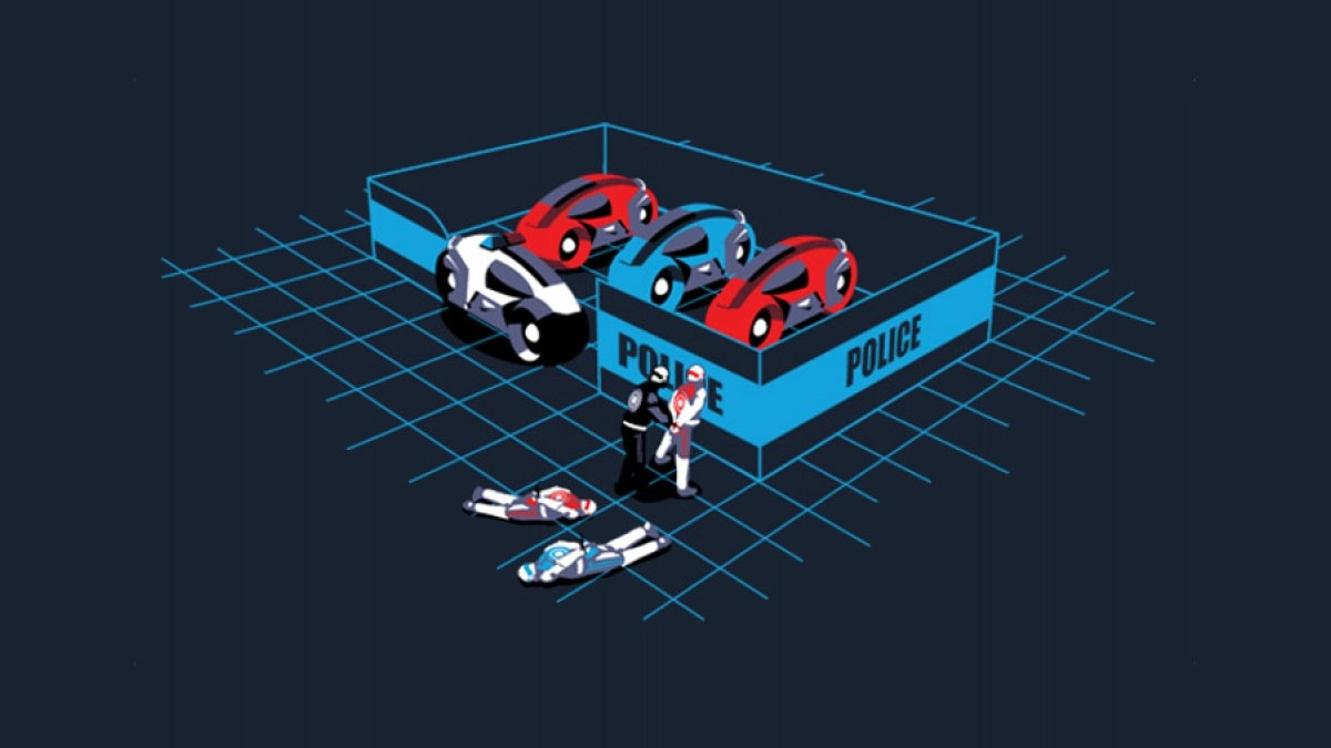 tron police station