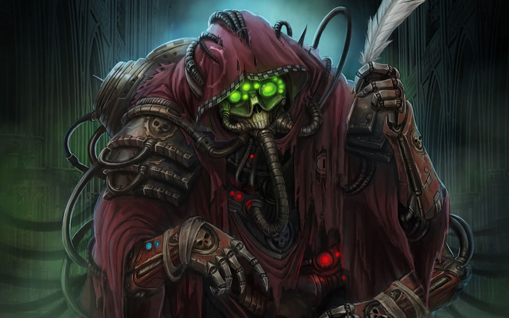 warhammer 40k tech priest