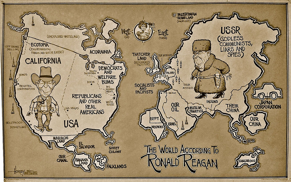 world according to reagan